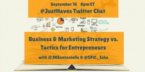 JustHaves Twitter Chat with Isha Edwards